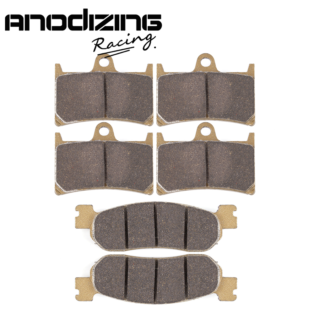 Motorcycle Front and Rear Brake Pads For YAMAHA R6 1992-2002 R1 2002 2003 180 16 9 fast fold front and rear projection screen back