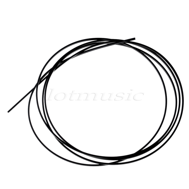 Black Abs Guitar Binding Purfling Strip 165061 5mm In Guitar Parts