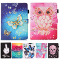 PU Leather Stand Case Cover For Samsung Galaxy Tab S2 8.0 T710 T715 SM-T710 SM-T715 Cute Cartoon Tablet Case With Card Slots