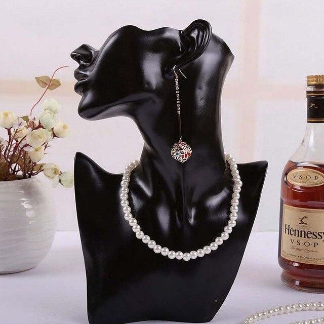 Buste de bijoux en résine pour boucle doreille collier bijoux présentoir titulaire de haute qualité en gros
