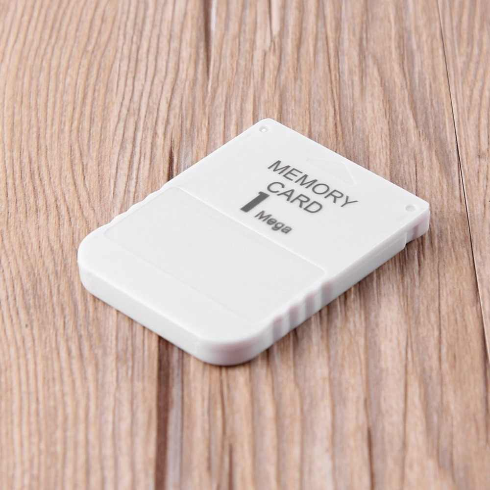Atmeyol Memory Card for 1 One PS1 PSX Game Practical Affordable Storage