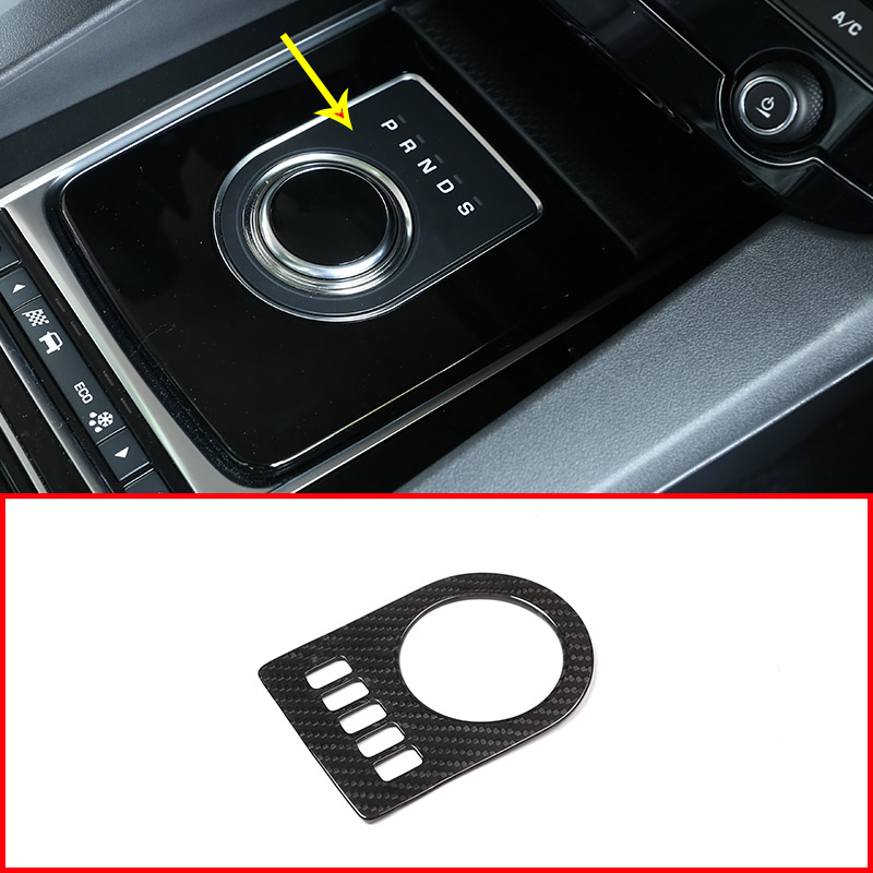 Real Carbon fiber Gear Shift Panel Trim Sticke For Jaguar XF XE XJL XJ F Pace Car Accessories-in Interior Mouldings from Automobiles & Motorcycles on AliExpress - 11.11_Double 11_Singles' Day 1