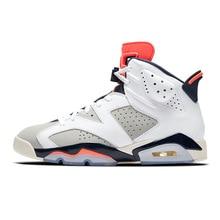 detailed look 3661d 341a1 Jordan Retro 6 zapatos de baloncesto Tinker UNC azul gato negro rojo de  infrarrojos Carmine marrón