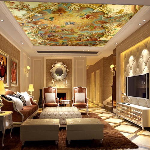 Fall Ceiling Wallpaper Suspended Ceiling Murals Wallpapers Large Photo Wallpaper