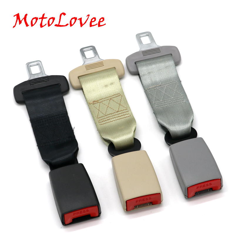 MotoLovee Universal Car Auto Seat Seat Belt Safety Belt Extender Extension Buckle Seat Belts & Padding Extender