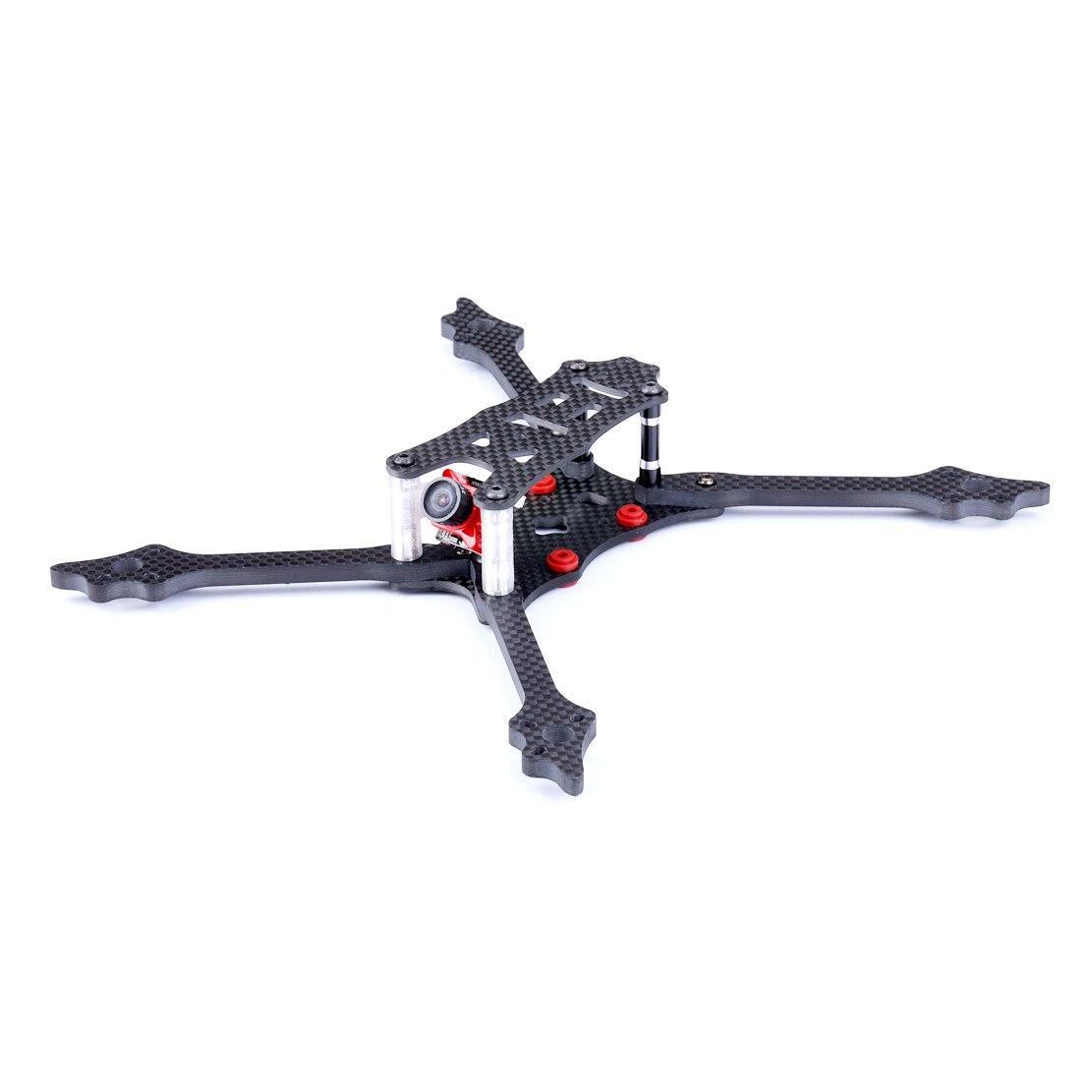 TransTEC LASER DB5 218mm cadre empattement 68g 5mm 3 K plein carbone avec Fiber Semi-Kevlar ESC 30A 4in1 ESC 4 S FPV Kit de cadre de Drone