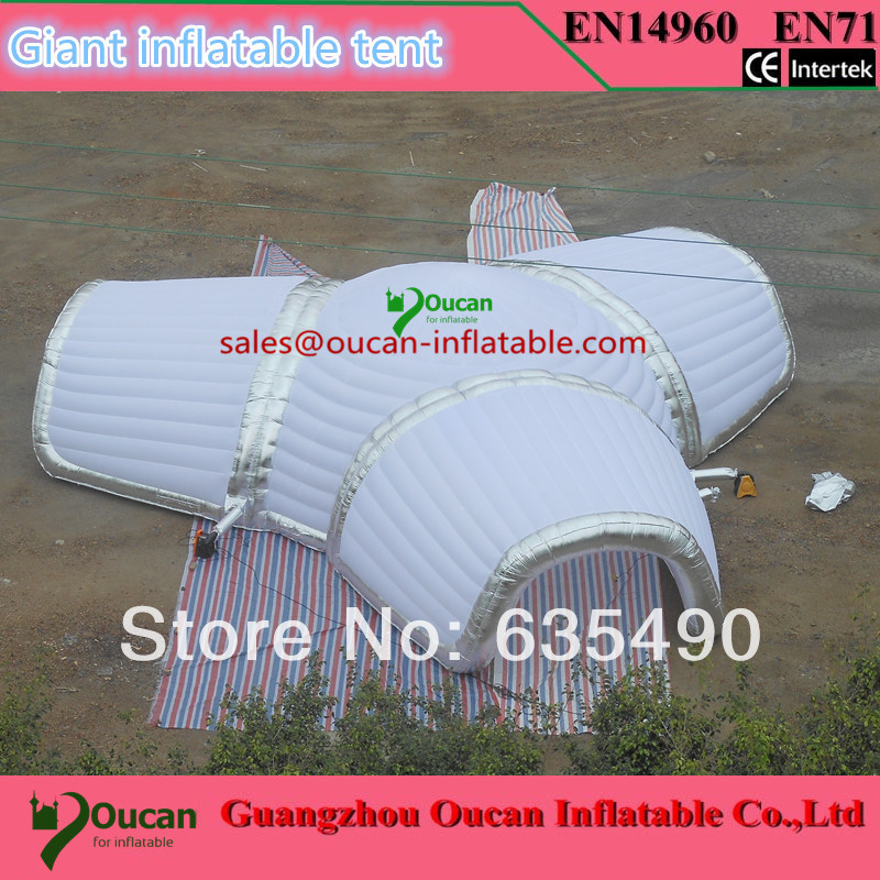 Giant inflatable tent for wedding or advertisement, inflatable event tent, party tent with blower and free shipping dome party tent for event inflatable tent for wedding waterproof canopy tent inflatable tent free ce ulblower