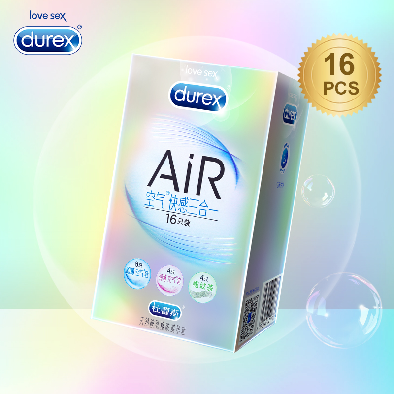Durex AiR Condoms Ultra Thin Super Sensitivity Condom Smooth Penis Sleeve Addicted Intimate Goods Sex Toys for Ejaculation Delay