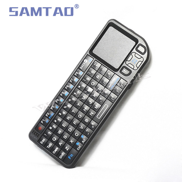 6840a82ef6f SAMTAO Gyroscope Fly Air Mouse Wireless Game Keyboard Android Remote  Control Rechargeable 2.4Ghz Keyboard for Smart Tv Mini PC