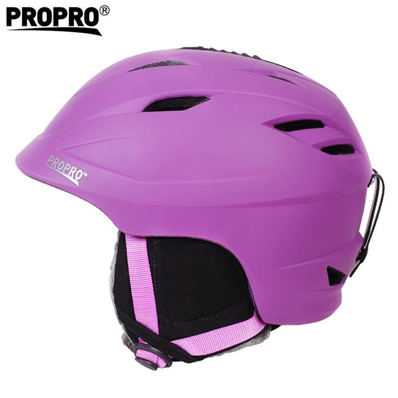 スキーヘルメット安全スポーツ一体成形通気性スキースノーボード男性女性スケートボードヘルメット雪サイズ 54 62 センチ  グループ上の スポーツ & エンターテイメント からの スキー ヘルメット の中 1