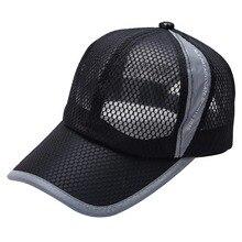 2019 Unisex Womens Mens Breathable Baseball Running Cap Snapback Hats Summer Adjustable Hat