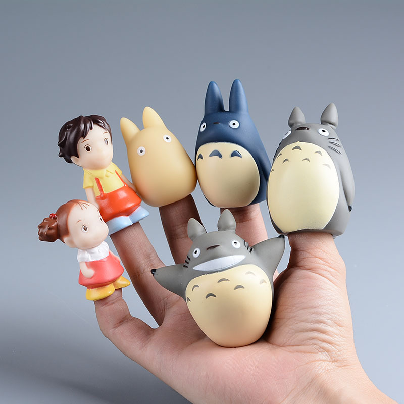 TOTORO Action Figure Kids Toys Japanese Studio Ghibli