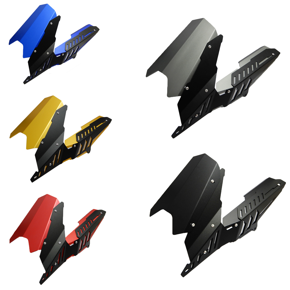 For Yamaha CNC Rear Fender Mudguard & Chain Guard Cover Kit for YAMAHA YZF R25 R3 2013 -2017 MT-03 2015-2017 inter m dpa 430h