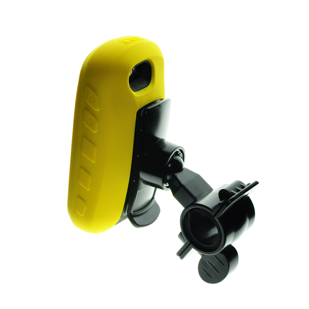 Motorcycle Bike Rotary Mount Bracket Holder + Silicone Protect Case Cover For Handheld GPS Garmin Oregon 650 700 650T 750 750T