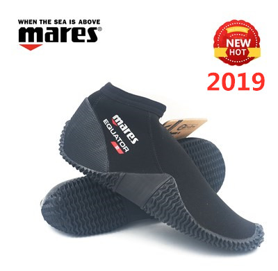 2019 NEW Mares equator 2mm ankle boots sandals low snorkeling Diving Scuba net submersible shoes walking