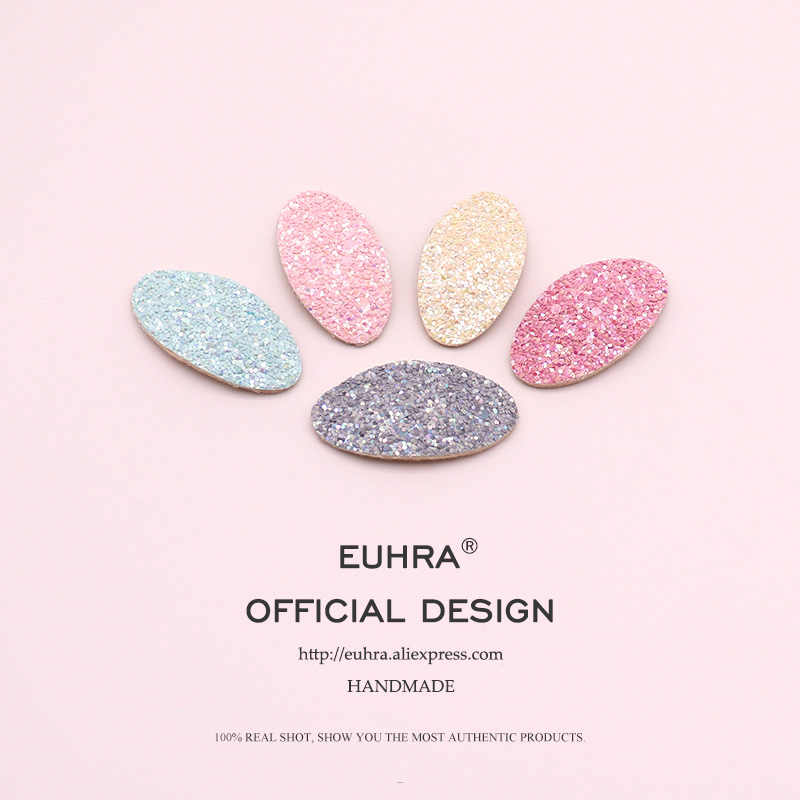 EUHRA 6 Colors Sequins Shining Brightly Cute Hair Basic Style Pins Bobby Pin Girls Hair Clip Hair Grips Women Bob Pins