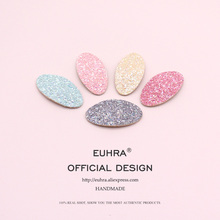 EUHRA 6 Colors Sequins Shining Brightly Cute Hair Basic Style Pins Bobby Pin Girls Clip Grips Women Bob