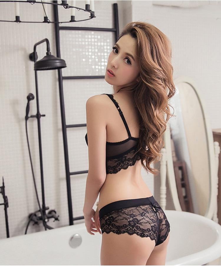 Japanese see through lingerie