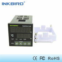 Inkbird PID Temperature Controller ITC 100 Thermostat Temp Measure with Omron Relay DIN 1/16
