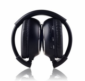 Image 1 - Freee shipping Infrared Stereo Wireless Headphones Headset  IR in Car roof dvd or headrest dvd Player A channels