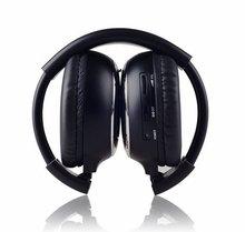 Freee verzending Infrarood Stereo Wireless Headphones Hoofdtelefoon IR in autodak dvd of hoofdsteun dvd Speler EEN kanalen