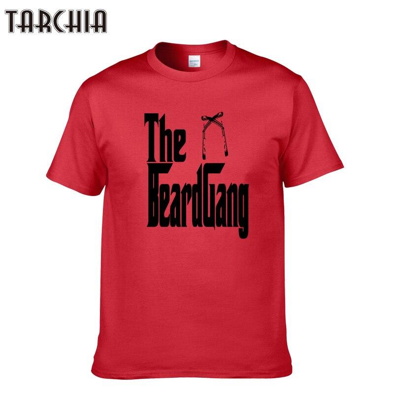 TARCHIA Summer Style 2018 Men Print T Shirt Short Fitness Tee Shirts Casual T Shirt Tops & Tees Design Mens Clothing Homme