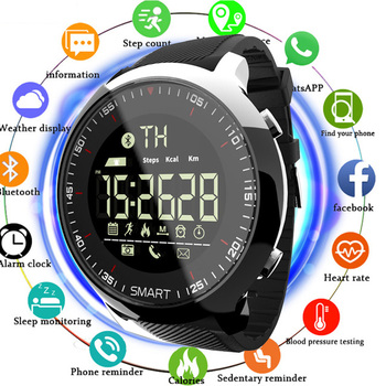 TOLASI Bluetooth SmartWatch Sport Waterproof Call Reminder Digital Mens Watches Top Brand Luxury SmartWatch Fitness Tracker