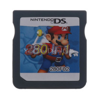 Nintendo DS 280 IN 1 F02 Video Game Cartridge Console Card