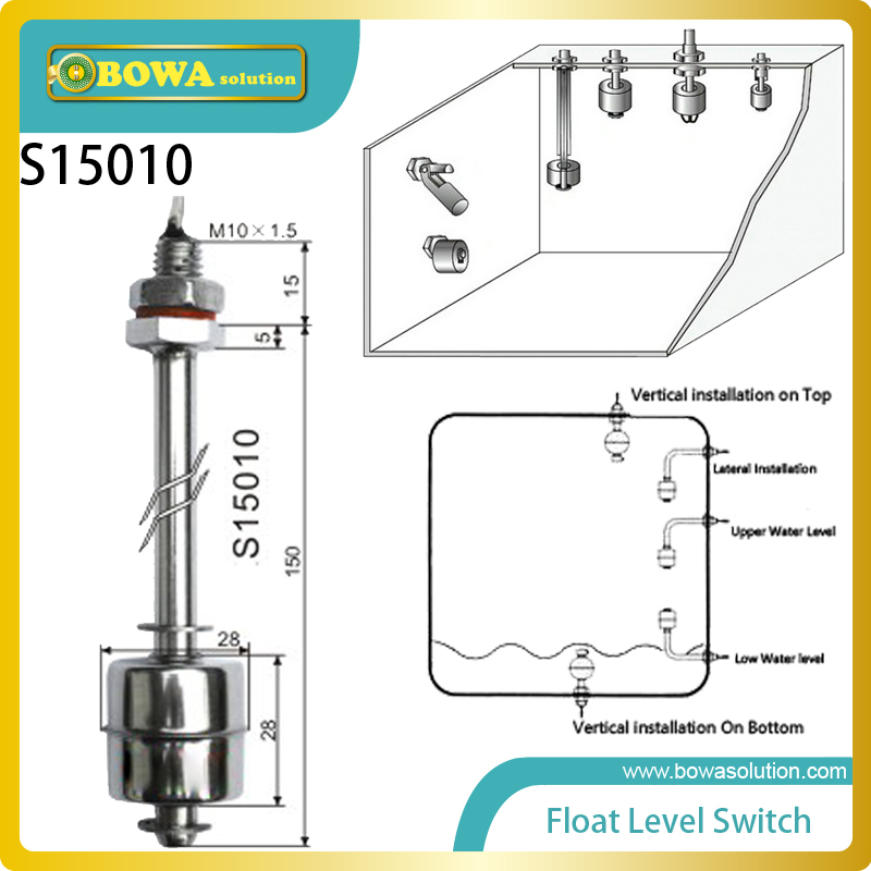 Stainless steel vertical mount Float Level Switches control oil level oil free oil float float 3806040 b56a d aluminum tube jiefang j6 electronic oil level sensor