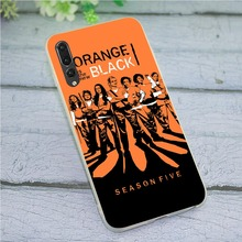Cover for Huawei Honor 8 Lite Orange Is the New Black Phone Case 8C 7C 9 10 Note Y6 2018 Y7 Y9 Nove 3 3i 6A 7A 7X Pro