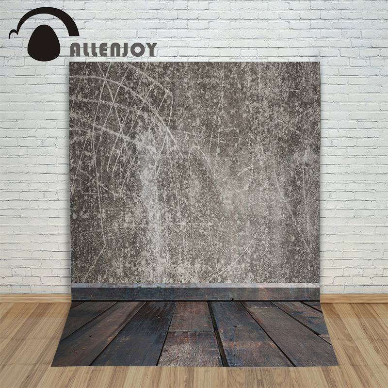 Allenjoy Background photography vinyl backdrop Wood flooring wall retro stitching for a photo shoot photographic camera