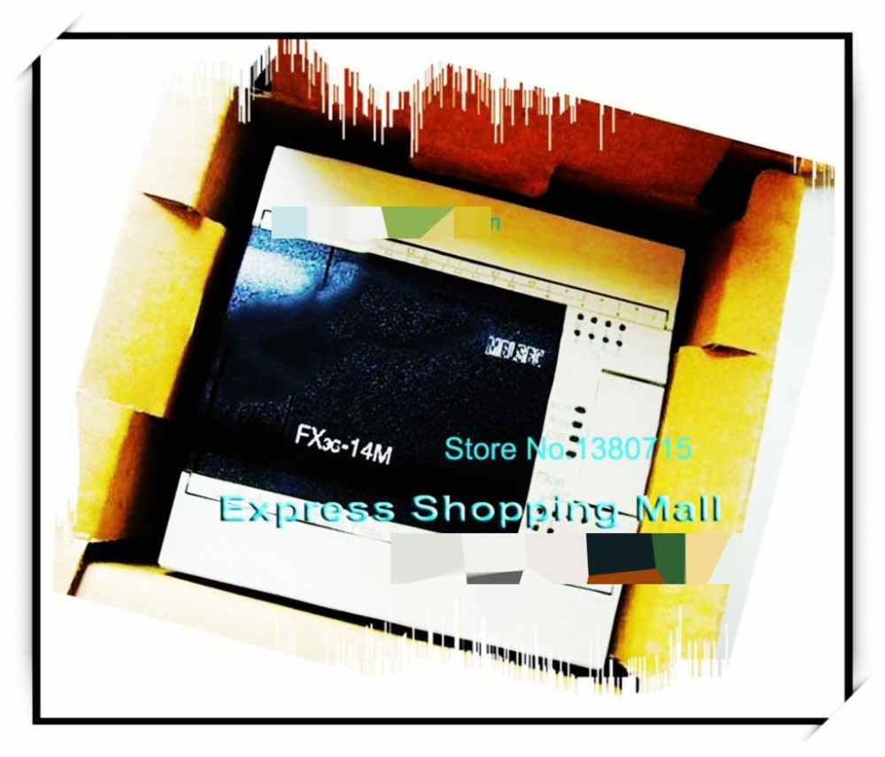 New Original FX3G-14MT/ES-A PLC Main Unit DI 8 DO 6 Transistor 100 to 240V AC m fx 40du tk es s