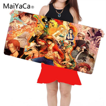 MaiYaCa 700*300mm One Piece Gaming Mouse Pad Large Cartoon Anime Rubber for CSGO DOTA2 Gamer Mouse Pad Keyboard Mat Table Mat цены онлайн