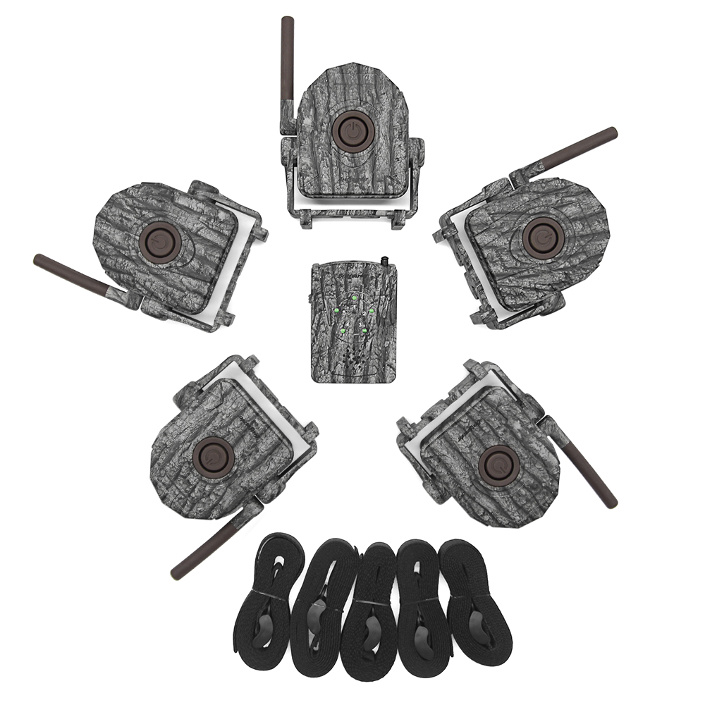 Wireless Alarm System Kits 5pcs/2pcs Infrared Detector + 1pc Receiver 300M for IR Hunting Animal Trail Wild Trap Home Security 19