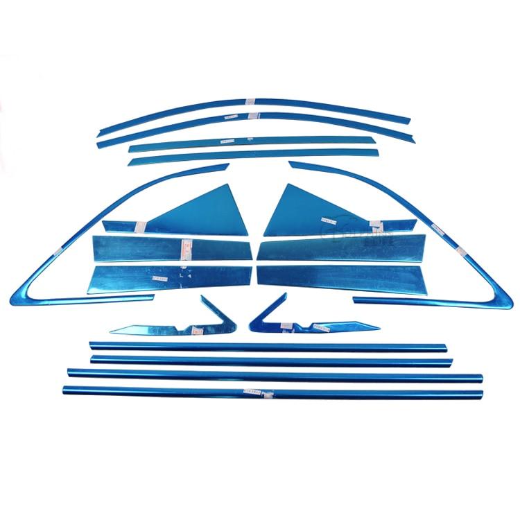 Для Kia Sorento 2009 2010 2011 2012 2013 2014 Нержавеющая сталь полный отделка окна украшения двери полоски стайлинга автомобилей Окна крышка