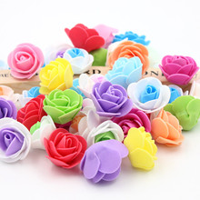 NEW Free shipping 100PCS a pack Creative bubble head rose wreath pectoral flower bouquet materials number color optional