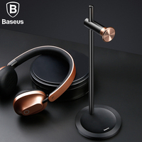 Baseus Adjustable Headphone Holder Fashion Design Metal Texture Headphone Stand Earphone Headset Desktop Stand Hanger