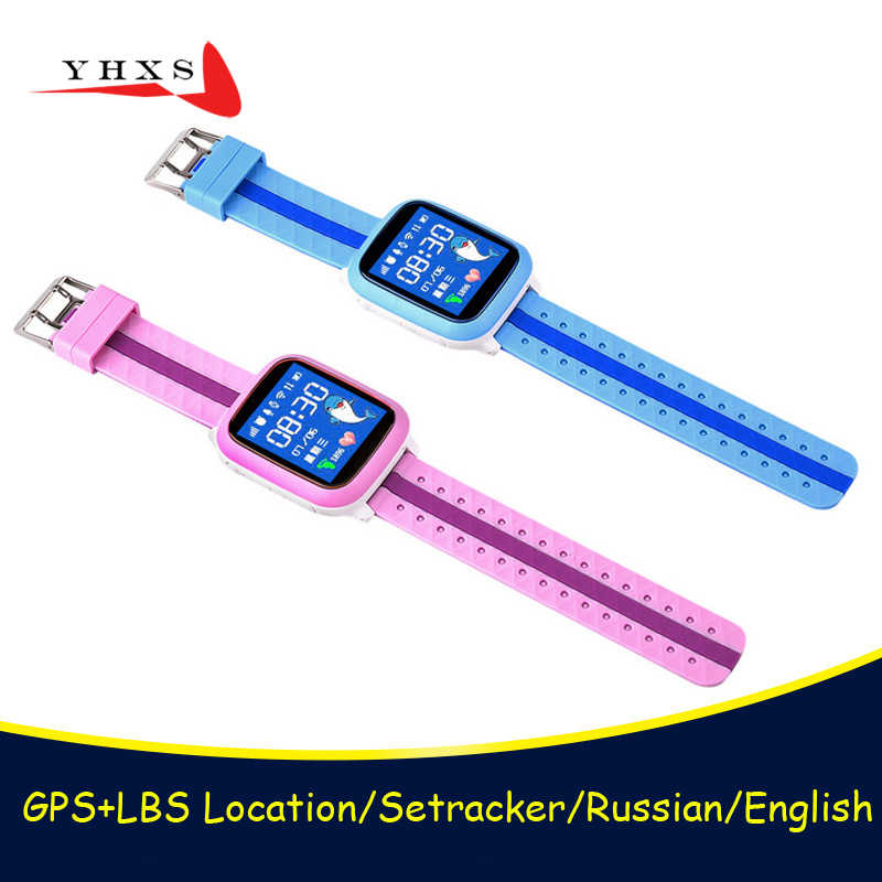 Waterproof Smart Watch Kids Children Baby GPS WiFi Locator Tracker SOS Call SIM Card Remote Monitor Smartwatch PK Q100 DS18 Q90