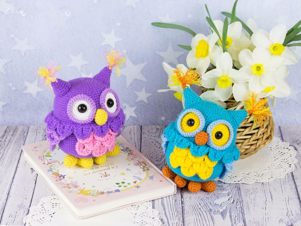 Crochet Toys  Amigurumi  Mrs Owl