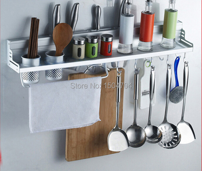 Kitchen Organization Tools: Kitchen Shelf Storage Rack Spice Tool Holder Seasoning