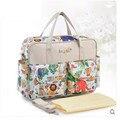 Bolsa de la madre 2015 del bebé bolsas de pañales del bebé bolsas de pañales de la momia de maternidad carters bolsa de pañales de hombro de señora handbag messenger