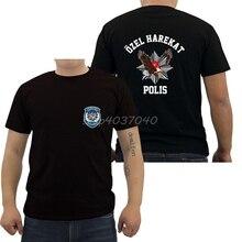 Cool Tees Cotton Shirt Top-Streetwear Turkey Short-Sleeve Fashion Polis Special-Force