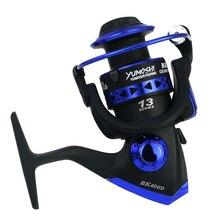 купить Spinning Fishing Reel 13 Bearing Balls Professional Metal Left/Right Hand Fishing Reel Wheels G-Ratio 5.1:1 дешево