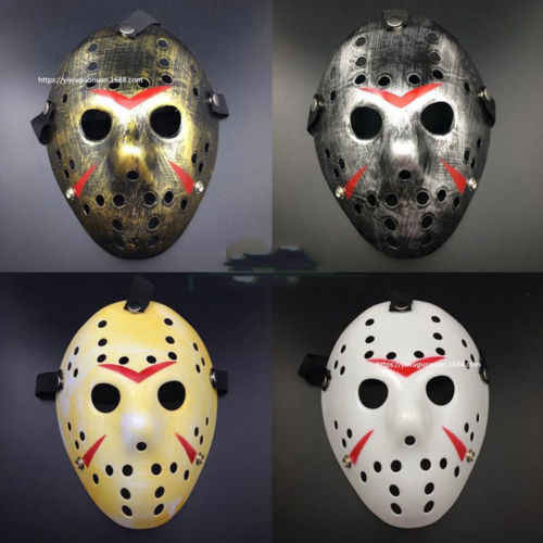 Hot Fashion Horrific Jason Voorhees Friday the 13th Horror Movie Hockey Mask Scary Halloween Mask