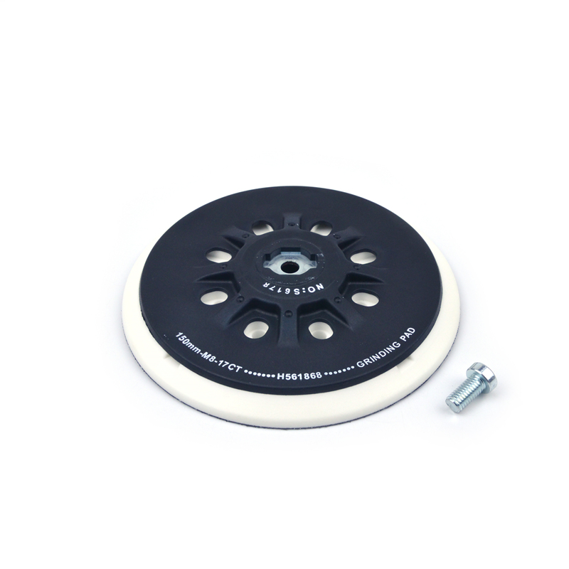 Image 4 - POLIWELL 6 Inch 150mm Back up Sanding Pad M8 Thread for Hook and Loop Sanding Disc Dust Free Grinding Pads Festool Sander Pad-in Abrasive Tools from Tools