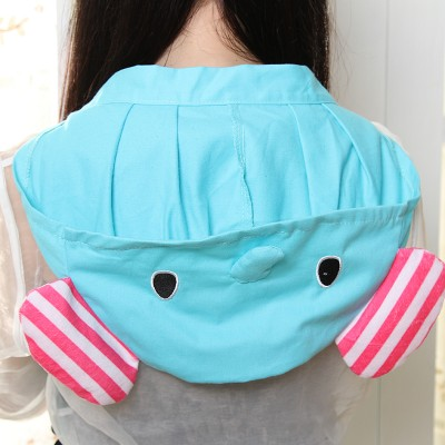 Cute cartoon elephant modelling apron that occupy the home The kitchen apron 56 5 83cm free shipping in Aprons from Home Garden