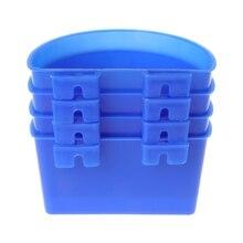 Новинка 4 шт. кормушка для голубей кормушка для воды птицы попугаи подвесная клетка полукруг чаша товары для домашних животных