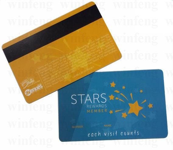 1000pcs/lot Customized Printing 13.56MHZ RFID NTAG213 NFC Card NFC Smart Card with HICO Magnetic Stripe