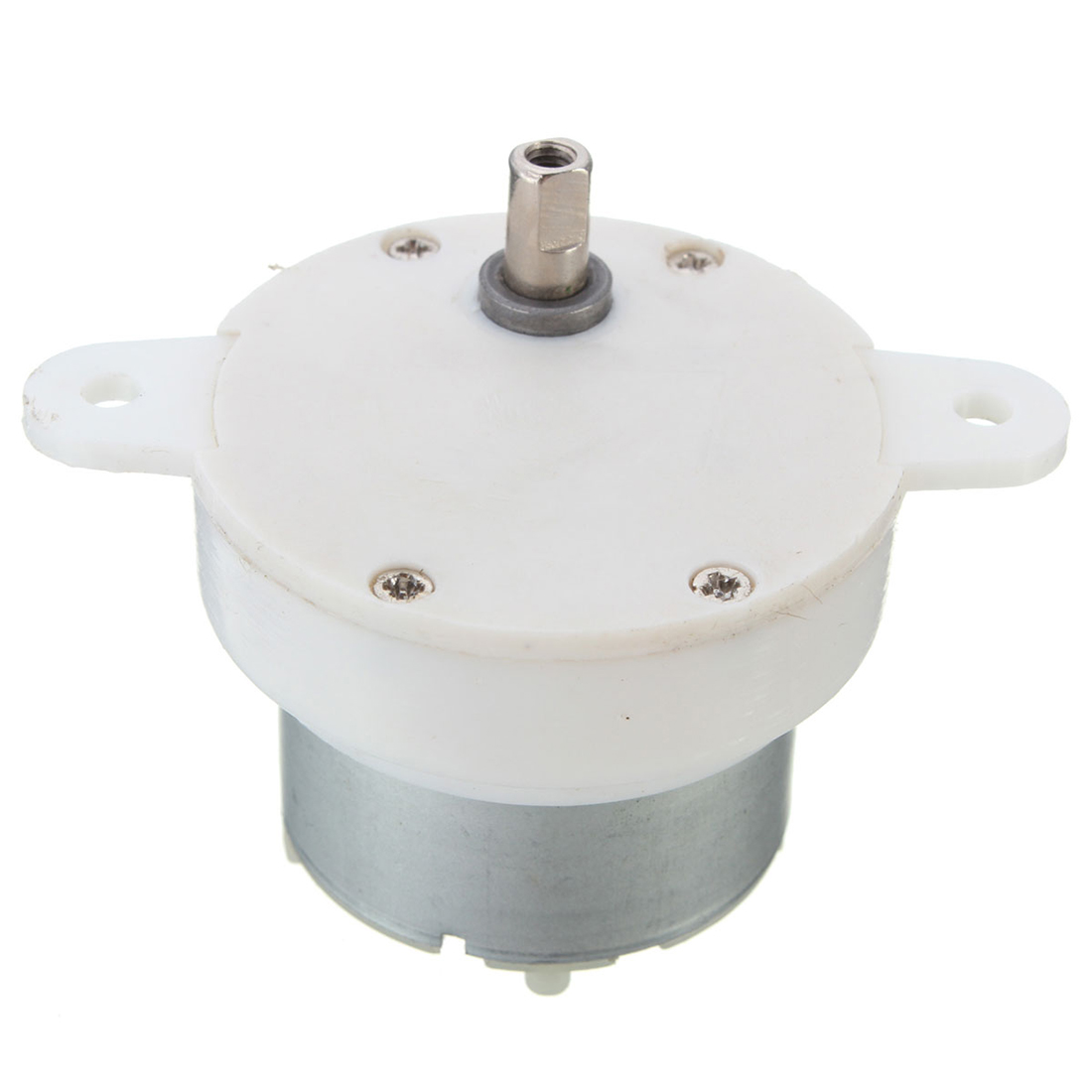 High Torque 12v DC Motor Slow Speed Electric Motor/Gearbox 3RPM 4mm Shaft Diameter Micro Motor Gearbox Slow Down Mute Mini Motor dc 6v 24v high speed micro motor 130 type shaft diameter 2mm 2pcs for smart car ship models