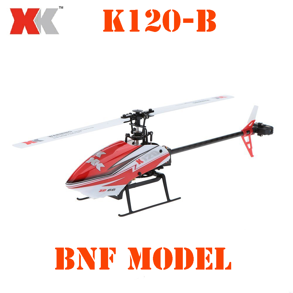BNF Model Original XK K120-B Shuttle 6CH Brushless 3D/6G System BNF RC Helicopter cowling edge 540qq 280 bnf basic